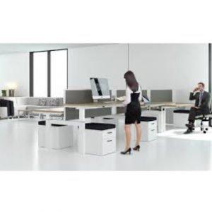 mesa ajustable para trabajar de pie