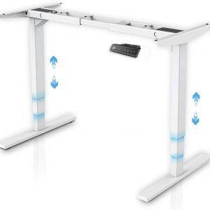 mesa regulable en altura maidesite blanca